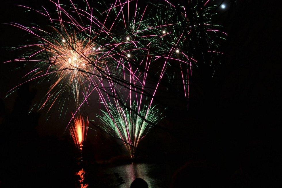 Novoroční oslavy v pákistánském Láhauru