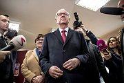 Jiří Drahoš u druhého kola prezidentských voleb