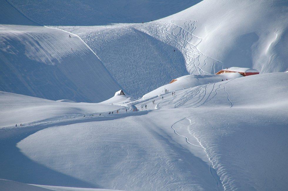 Italské alpské středisko Ponte di Legno