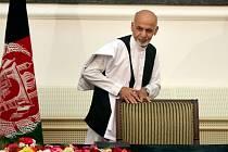 Afghánský prezident Ašraf Ghaní.