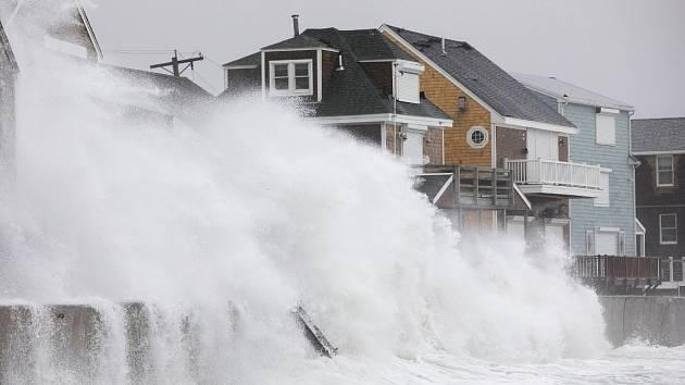 Severovýchod USA čelí silné bouři