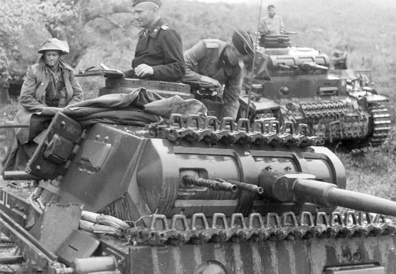 Tank náležející k německé 2. tankové divizi
