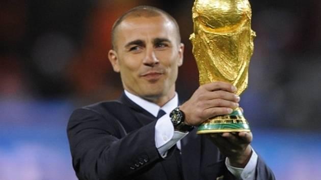 Mistr světa, držitel Zlatého míče z roku 2006 a bývalý kapitán italské reprezentace Fabio Cannavaro.