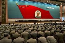 KLDR si připomíná první výročí úmrtí Kim Čong-ila.