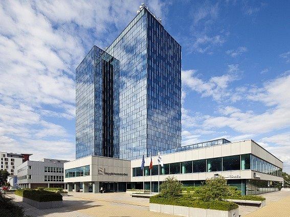 Sídlo Nejvyššího kontrolního úřadu (NKÚ) v Praze-Holešovicích.
