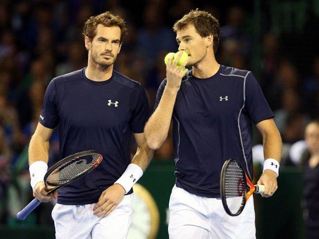 Bratři Andy (vlevo) a Jamie Murrayovi.