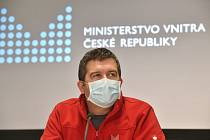 Ministr vnitra a předseda Ústředního krizového štábu Jan Hamáček