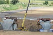Dostavba dálnice D8. Ilustrační foto