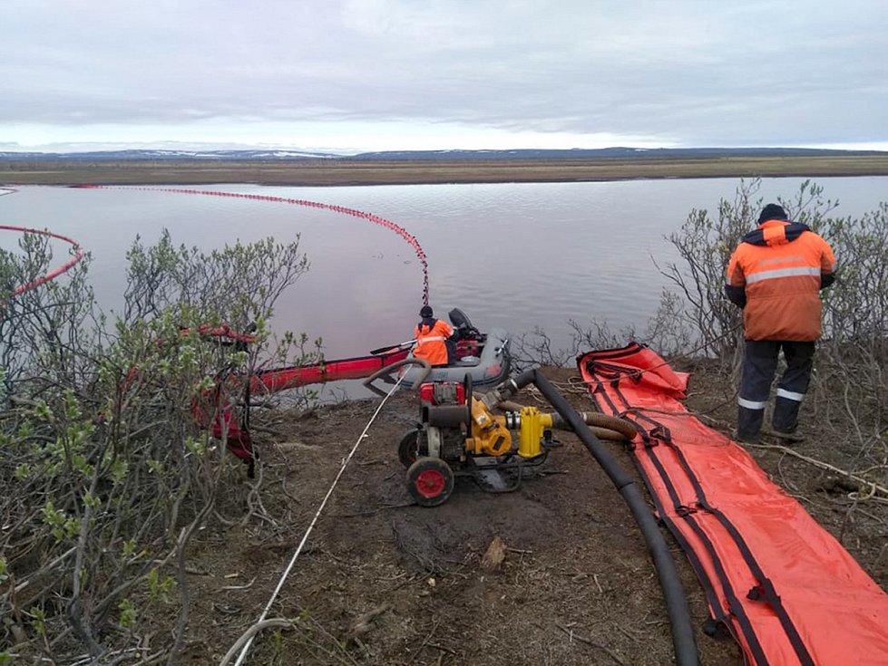 Ekologická havárie v elektrárně CHPP-3 v ruském Norilsku