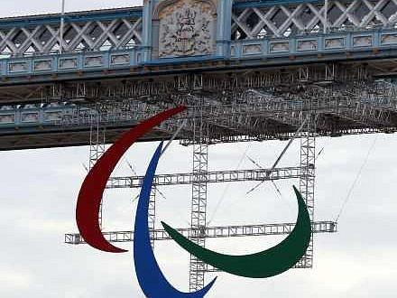Paralympijské hry v Londýně 2012. Ilustrační foto.