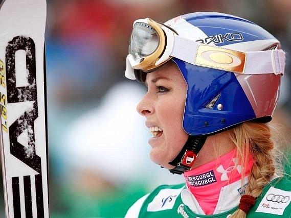 Americká sjezdařka Lindsey Vonnová.