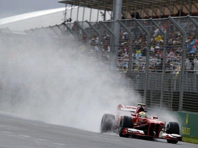 Felipe Massa z Brazílie během kvalifikace na Velkou cenu Austrálie.