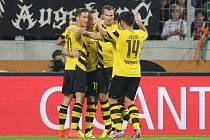 Radost hráčů Dortmundu