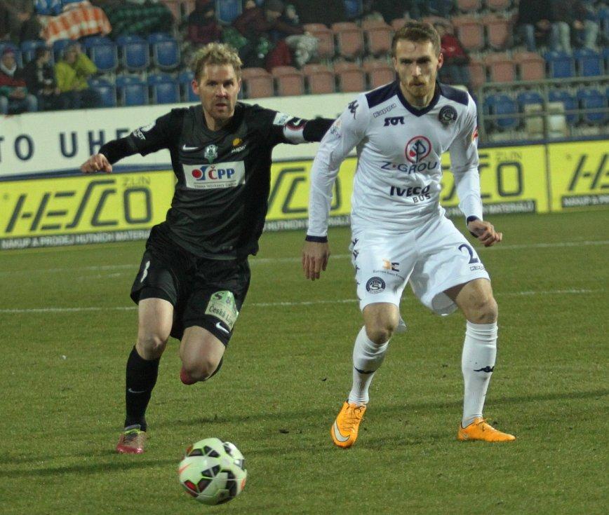 Tomáš Hübschman z Jablonce (vlevo) a Milan Kerbr ze Slovácka.