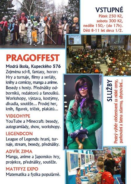 Pozvánka na festival PragoFFest 2016vPraze.