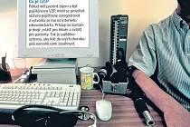 Projekt Elektronických zdravotnických knížek, veřejnosti spíše známý jako IZIP. Ilustrační foto.