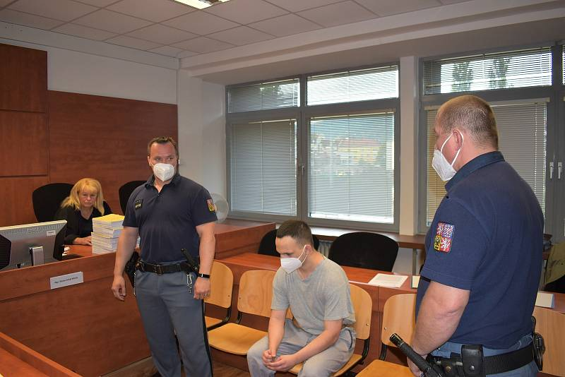 Jaroslav Klinkera před ústeckým krajským soudem 21. června 2021