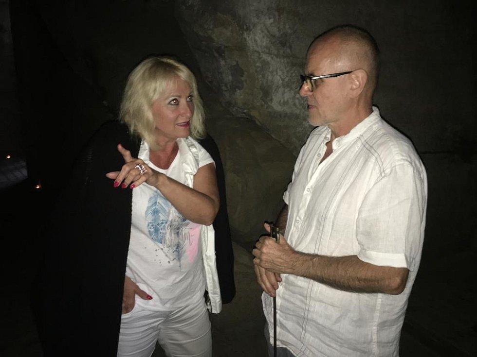 Rozhovor s nájemcem hradu Sloup Ivanem Volmanem