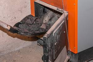 Kotel na uhlí - Ilustrační foto