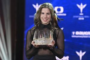 Ester Ledecká kralovala anketě Sportovec roku.