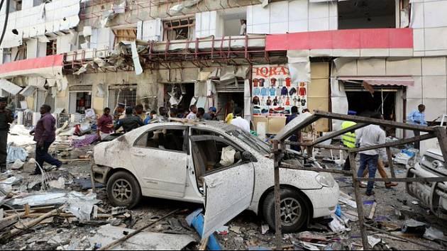 Teroristický útok v somálském Mogadišu