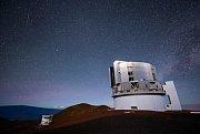 Observatoř Mauna Kea s teleskopem Subaru na ostrově Havaj