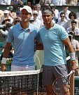 Poslední den French Open: Novak Djokovič a Rafael Nadal