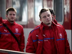 Fotbalová reprezentace přijela do Olomouce k přátelskému zápasu s Kanadou.