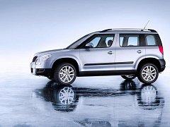 První terénní auto ze Škodovky je na světě. Yeti byl oficiálně představen