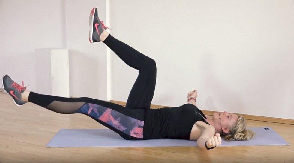 Pomalé aplynulé cvičení s Alenou Vídeňskou