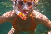 Ruská freedriverka Natalija Molčanova vydržela podle pravidel AIDA pod vodou bez nádechu devět minut a dvě sekundy. Ilustrační foto.