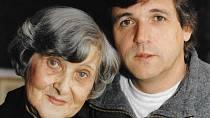 Karel Zich s maminkou