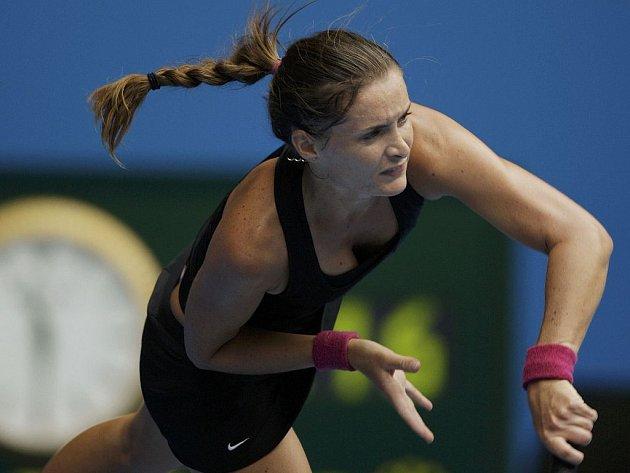Nejlepší česká tenistka Iveta Benešová.