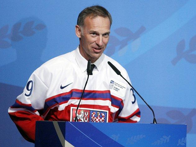 Legendární brankář Dominik Hašek vstoupil do Síně slávy IIHF.