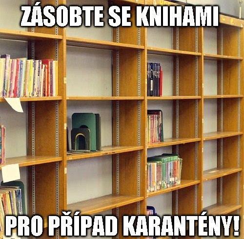 Aktuální situace využily pro svůj marketing i knihovny