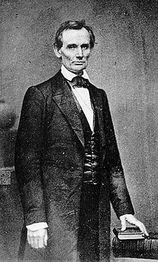 Americký prezident Abraham Lincoln