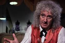 Kytarista legendární britské hudební skupiny Queen Brian May.