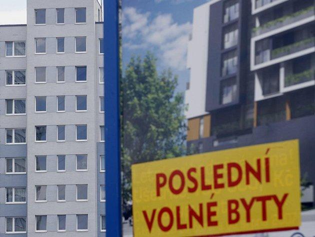 Velké nelákají. Lidé upřednostňují menší byty.