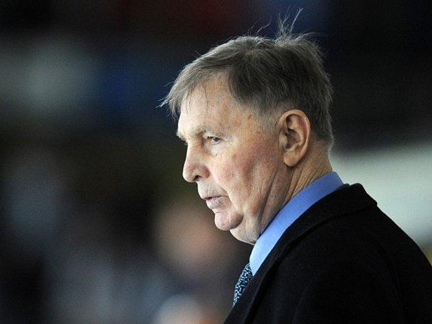 Slavný hokejový trenér Viktor Tichonov.