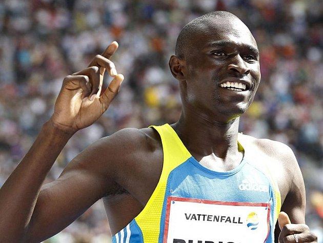 David Rudisha na mítinku v Rieti opět překonal světový rekord na 800 metrů.