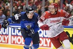 Zápas Finska proti Dánsku