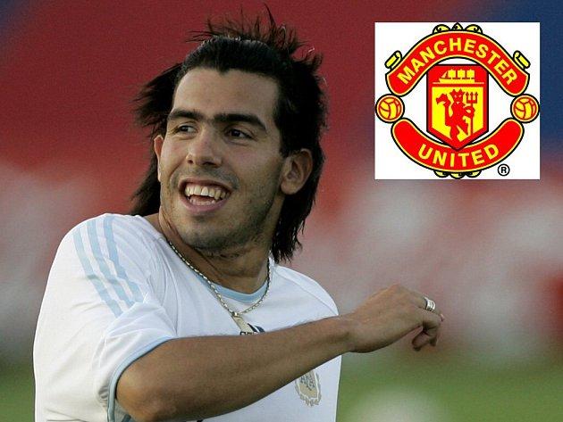 Tevez zřejmě brzy zamíří na Old Trafford.