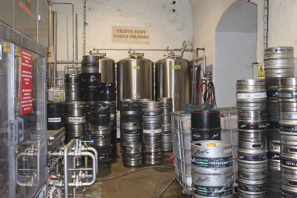 Uvnitř frýdlantského pivovaru