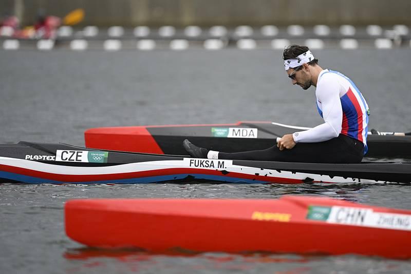 Kanoista Martin Fuksa obsadil na olympiádě v Tokiu páté místo v závodě na 1000 metrů.