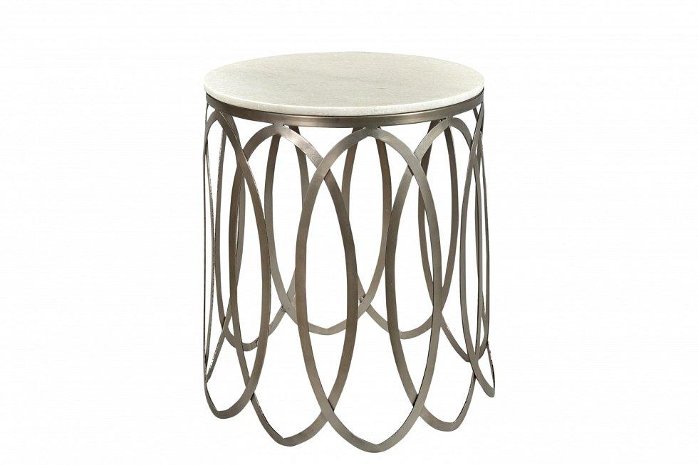 Konferenční stolek mramor, kov