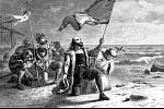 Kryštof Kolumbus přistání v Novém světě v 1492.