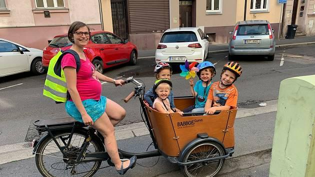 Ludmila Mráčková, rikša