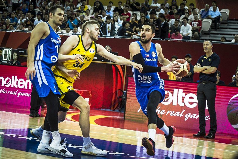 Mistrovství světa v basketbalu. Zápas české reprezentace proti Austrálii