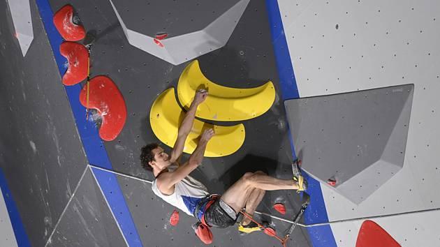 Adam Ondra - Letní olympijské hry Tokio 2020, 5. srpna 2021.