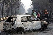 Požár v Portugalsku